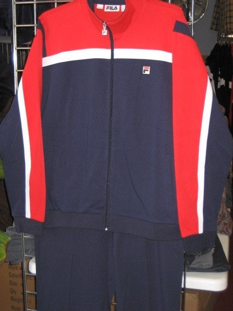 a84600d7f4e17 Fila Jogging Pants, Fila Warmup Suits, Fila Tracksuits, Sandals & More